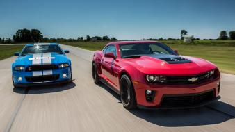 Track zl1 ford shelby front view gt500 Wallpaper
