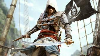 Video games assassins creed black flag iv 4: wallpaper