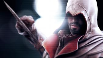 Video games assassins creed ezio wallpaper