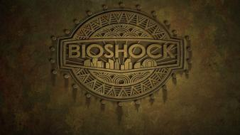Video games bioshock gamers logos wallpaper