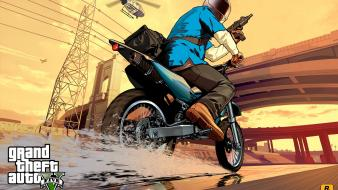 Video games grand theft auto v gta wallpaper
