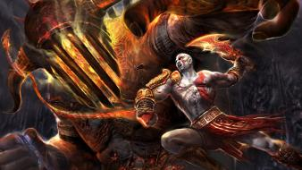 Video games hades god of war 3 kratos wallpaper