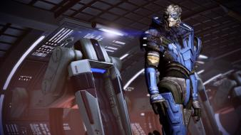 Video games mass effect 2 garrus vakarian wallpaper