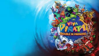 Video games paradise viva pinata: trouble in wallpaper
