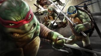 Video games teenage mutant ninja turtles shadows game wallpaper