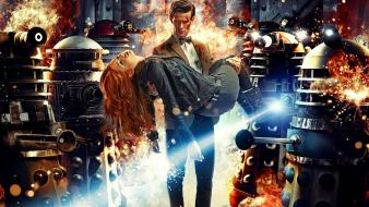 Amy pond eleventh doctor who tv series wallpaper