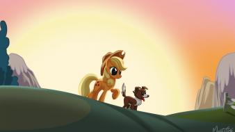 Applejack my little pony: friendship is magic winona wallpaper