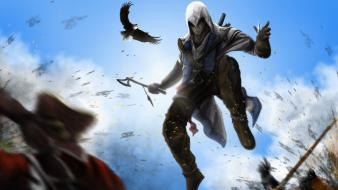 Artwork creed 3 fan art connor kenway wallpaper