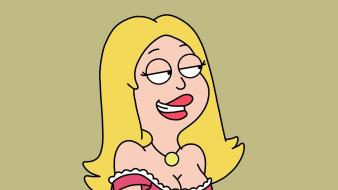 Artwork huge american dad provoking francine smith Wallpaper