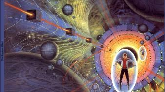 Artwork science fiction wallpaper