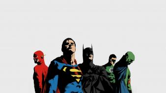 Batman superman justice league wallpaper