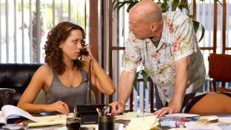 Bruce willis rebecca hall lay the favorite Wallpaper
