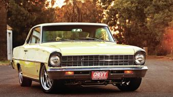 Cars chevrolet nova 1967 automobile wallpaper