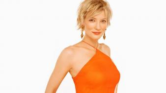 Cate blanchett short hair 2112 simple background wallpaper