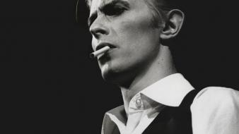 David bowie monochrome Wallpaper