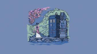 Disney company tardis mulan doctor who crossovers wallpaper