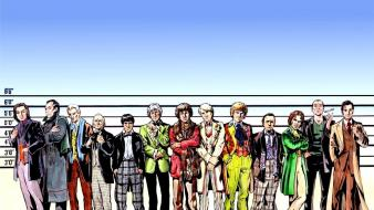 Doctors characters doctor who height chart wallpaper