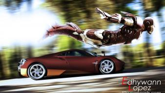 Engines fly wheels races fast auto zonda wallpaper