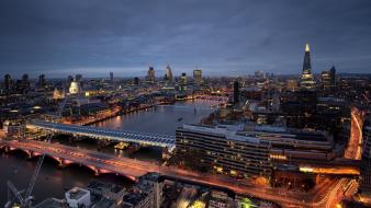 England london great britain capital canary wharf wallpaper