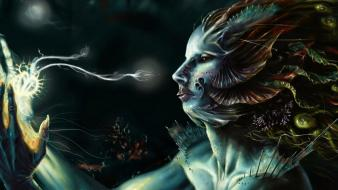 Fantasy art deep sea artwork wallpaper