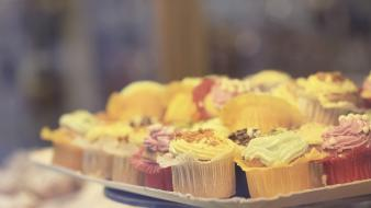 Food cupcakes wallpaper