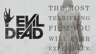 Horror evil dead the movie wallpaper