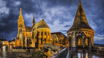 Hungary budapest matthias church wallpaper