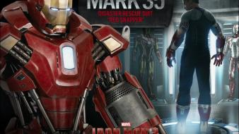 Iron man red armor robert downey jr 3 wallpaper