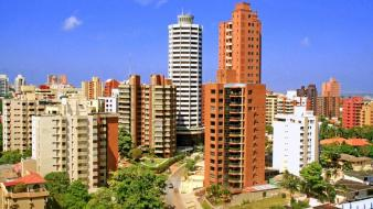 Landscapes buildings colombia cities barranquilla Wallpaper