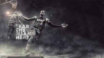 Lebron james dwyane wade miami heat player wallpaper