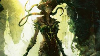 Magic the gathering fantasy art artwork vraska wallpaper