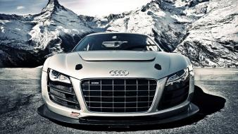 Mountains cars audi vehicles r8 quattro gtr v10 wallpaper