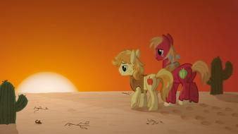 My little pony: friendship is magic braeburn wallpaper