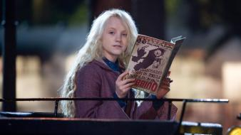 Order of phoenix luna lovegood evanna lynch wallpaper