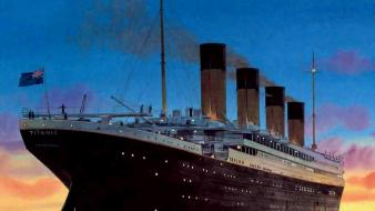 Paintings titanic wallpaper