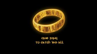 Pokemon the lord of rings one ring wallpaper