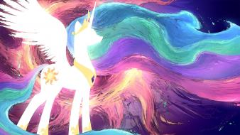 Ponies princess celestia pony: friendship is magic wallpaper