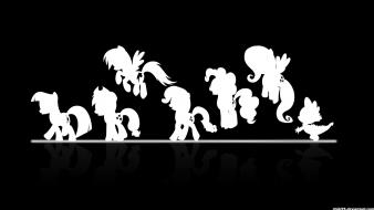 Ponies spike my little pony: friendship is magic wallpaper