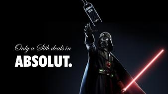 Star wars vodka darth vader sith absolut liquor wallpaper