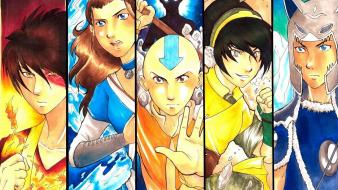 Toph zuko aang katara tv series sokka Wallpaper