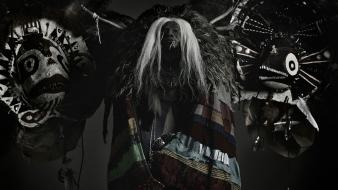 Tribal fever ray mystical wallpaper