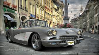 Vehicles chevrolet corvette wallpaper
