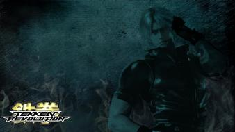 Video games tekken revolution styled game characters wallpaper