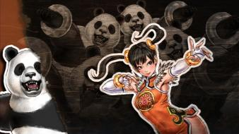 Video games tekken revolution xiaoyu game characters wallpaper