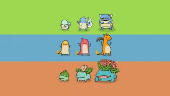 Wartortle charmeleon squirtle blastoise evolution charizard charmander Wallpaper