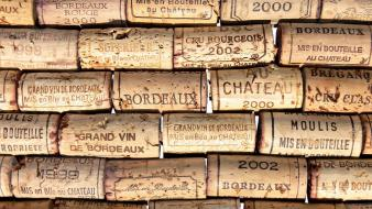 Wine digital art corks Wallpaper