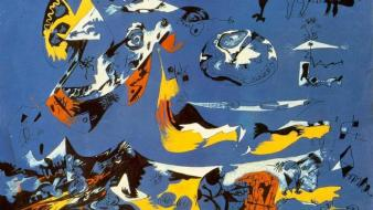 Abstract paintings artwork jackson pollock Wallpaper
