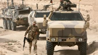 Apc afghanistan armoured personnel carrier dingo german wallpaper