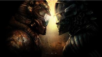 Armor artwork warriors crysis 3 game characters Wallpaper