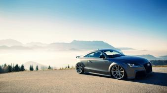 Audi tt rs matte colored canibeat wallpaper